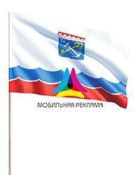 Флаг Ленинградской области